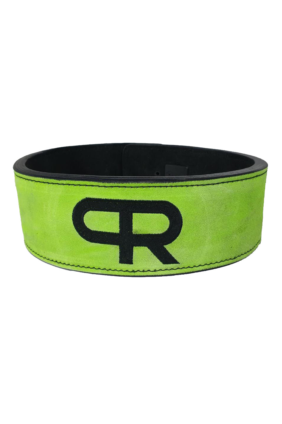 PR Powerlifting 13mm Belt w/ Lever Buckle - Black/Neon