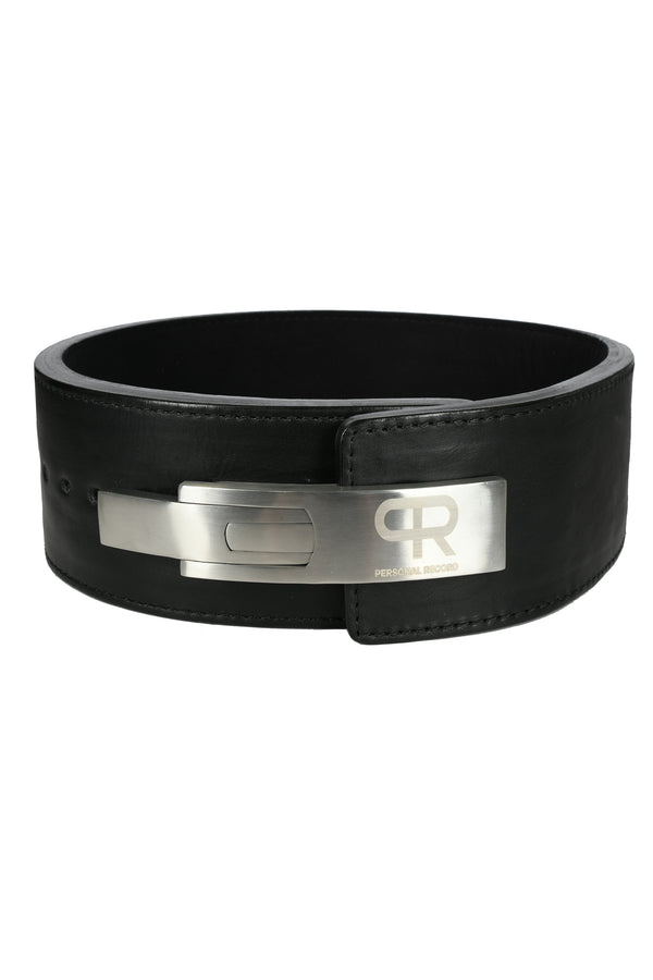 PR Powerlifting 13mm Belt w/ Stainless Steel Lever Buckle - Black