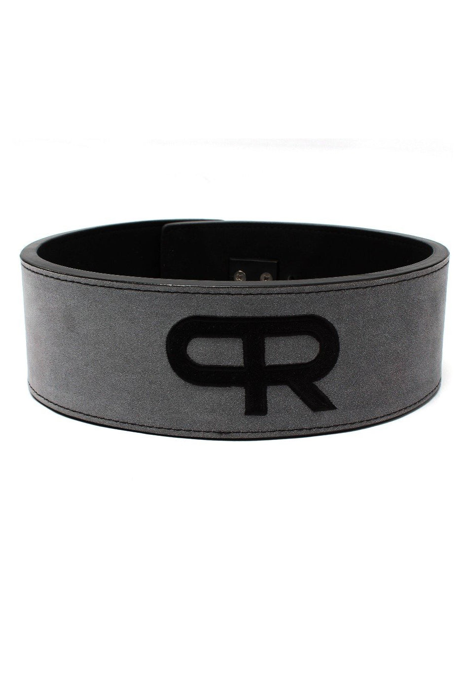 PR Powerlifting 10mm Belt w/ Lever Buckle - Grey/Black