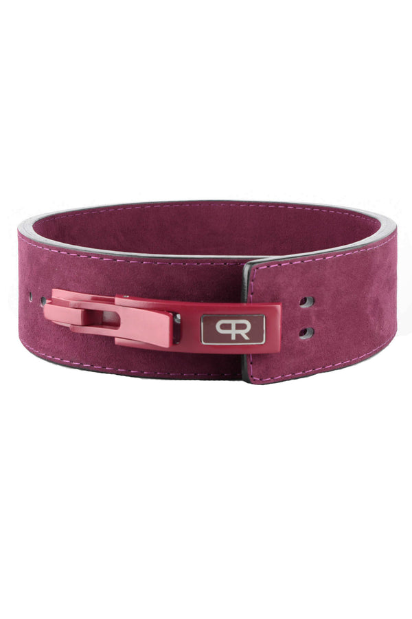 PR Powerlifting 13mm Belt w/ Lever Buckle - Purple