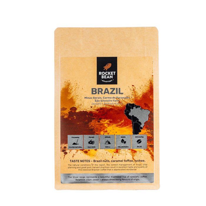 Brazil, Sao Silvestre, Pulped Natural