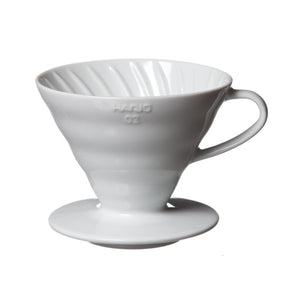 Hario Coffee Dripper V60 02 Ceramic White
