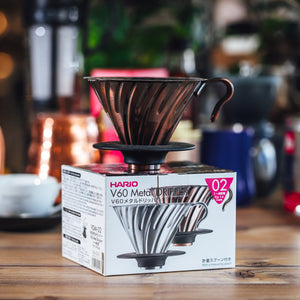 Hario V60 Copper Coffee Dripper 02