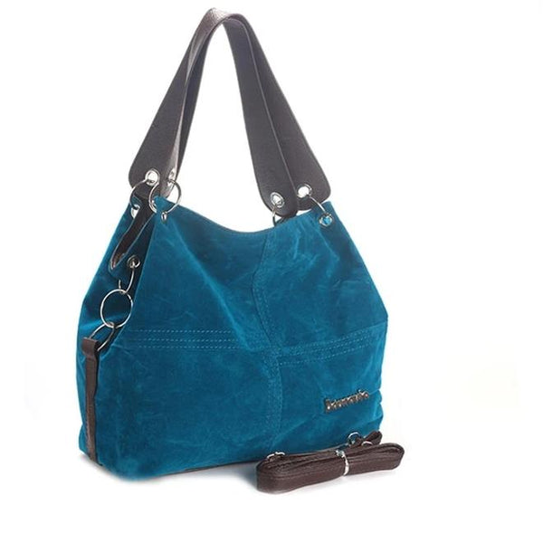 The Daunavia Corduroy Vintage Tote is the Best of the Old and New in One Stylish Tote!