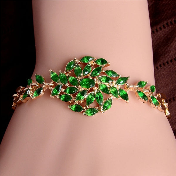 Decorative Austrian Crystal Bracelet