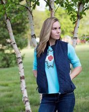 Load image into Gallery viewer, Women's Outback Navy Grand Prix Vest