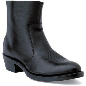 Men's Durango Black Side Zip Boot