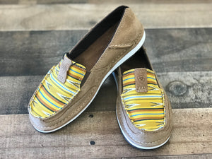 Ariat Cruiser Dark Tan and Mustard Navajo