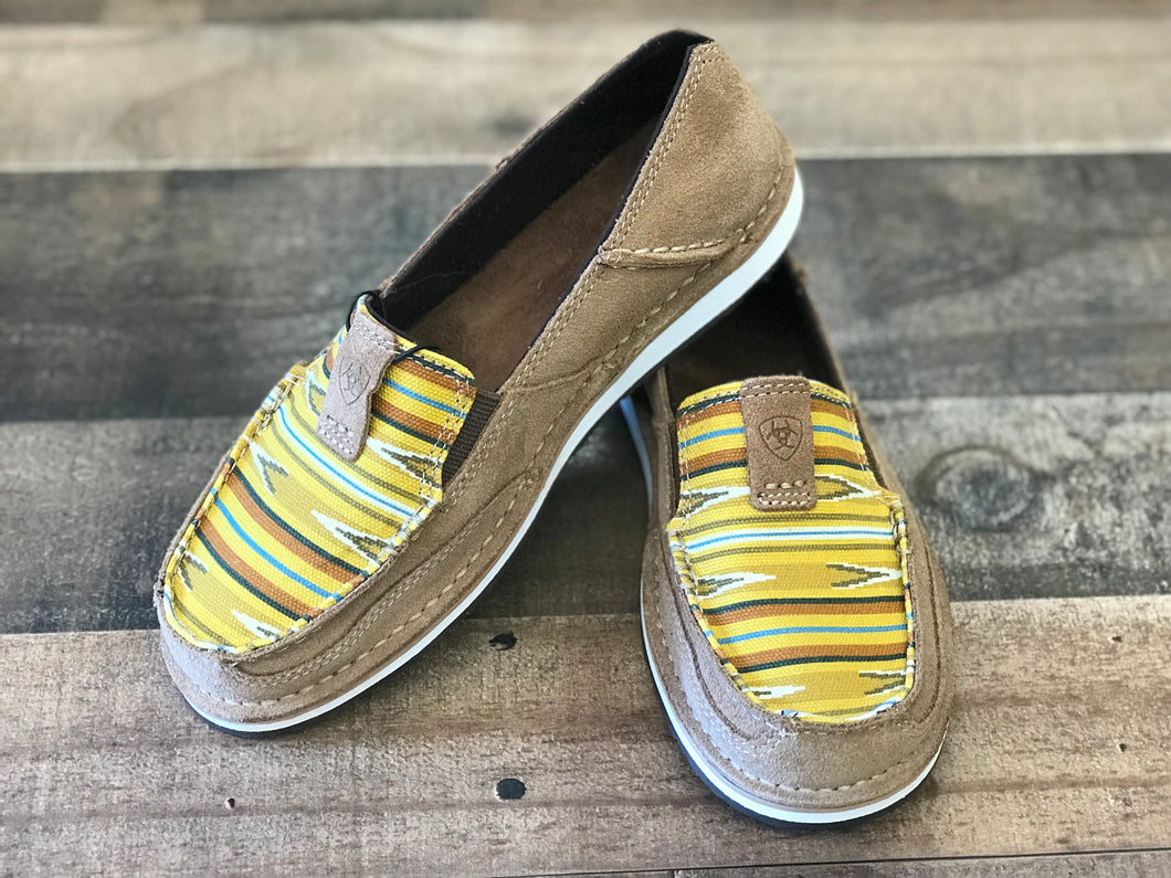 Ariat Cruiser Dark Tan/ Mustard Navajo