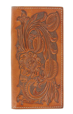 Nocona Pro Rodeo Tooled Wallet