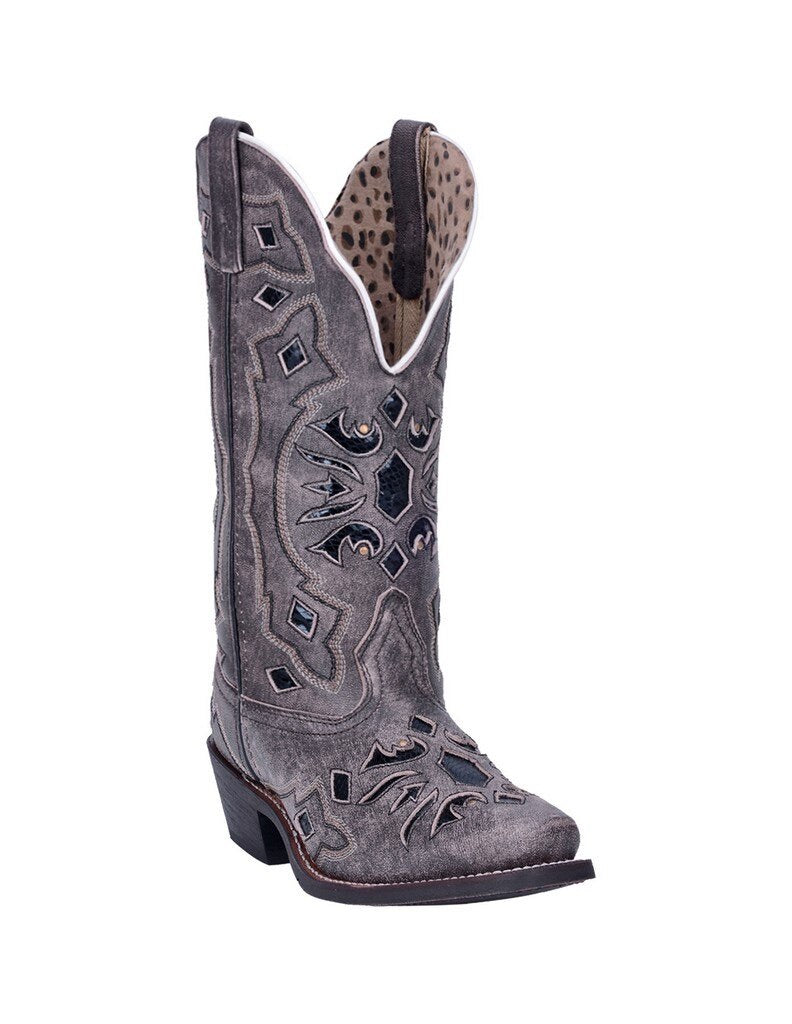 Women's Laredo Black Queen of Diamonds Boot