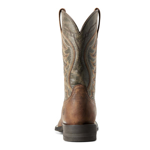 Men's Ariat Amos Sorrel Crunch & Army Green Boots 10029688