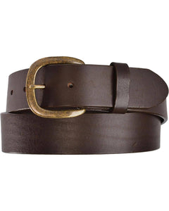 Men's Justin Work Chocolate Belt