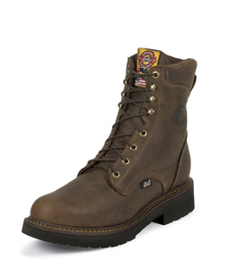 Men's Justin Balusters Rugged Bay Gaucho Work Boot