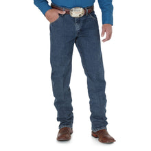 Load image into Gallery viewer, Men's Wrangler Premium Performance Advanced Comfort Dark Denim Jeans