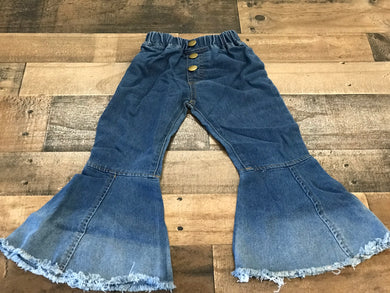 Little Girls Flare Jeans
