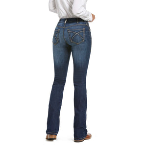 Women's Ariat REAL Rosa Perfect Rise Boot Cut Jeans