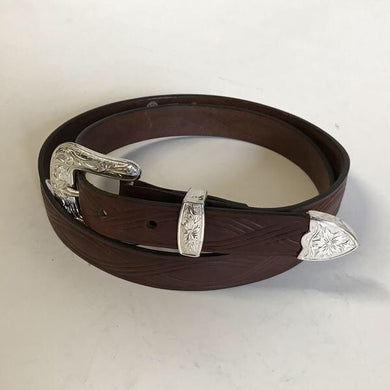 Women's Rockmount Tooled Figure 8 Belt
