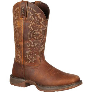 Men's Durango Rebel Brown Steel Toe Boots