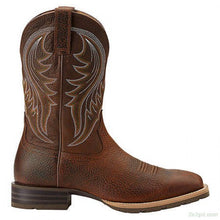 Load image into Gallery viewer, Men's Ariat Brown Hybrid Rancher Boots