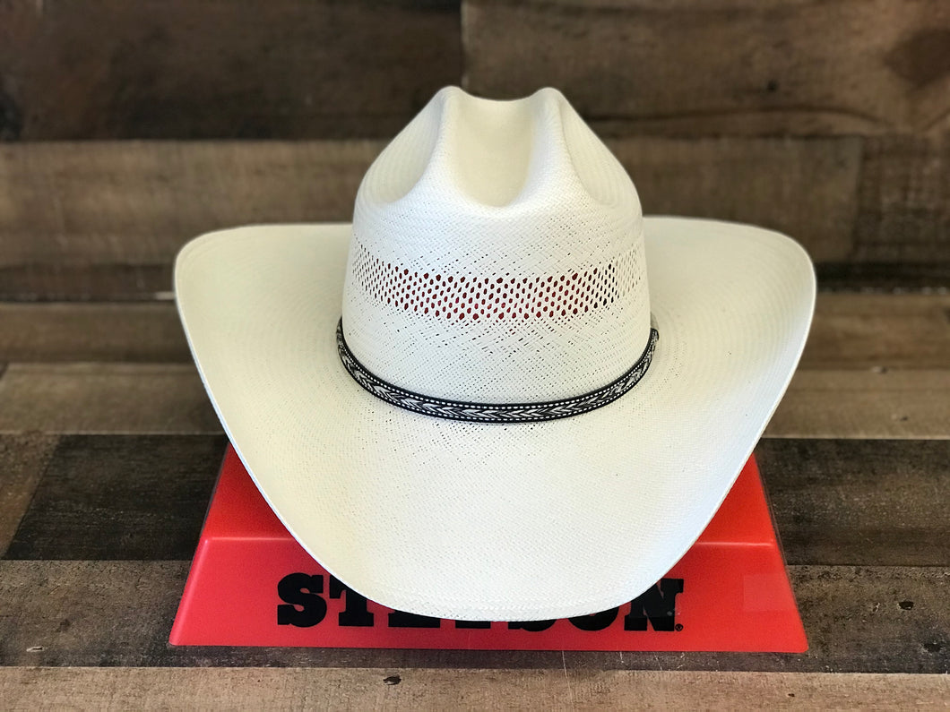 Stetson 10X Grey Star Straw Hat