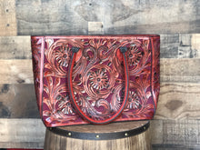 Load image into Gallery viewer, Tooled Leather Purses