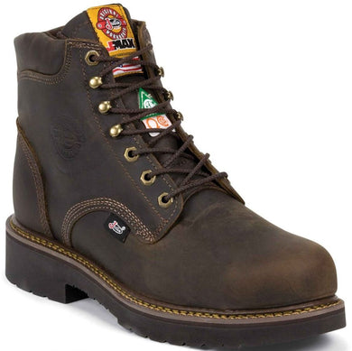 Men's Justin J-Max Balusters Bay Gaucho Work Boots