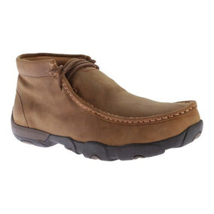 Men's Twisted X Saddle Brown Waterproof Driving Moc