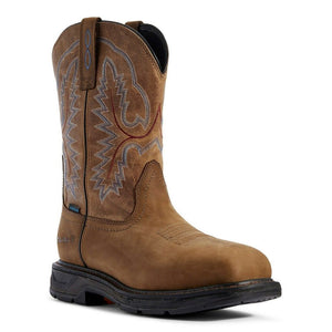 Men's Ariat Brown WorkHog XT H2O Boots