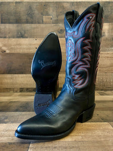 Men's Outlaw by Old West Black Adrian Boots