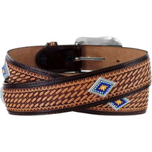 Load image into Gallery viewer, Men's Justin Sunset Diamond Belt