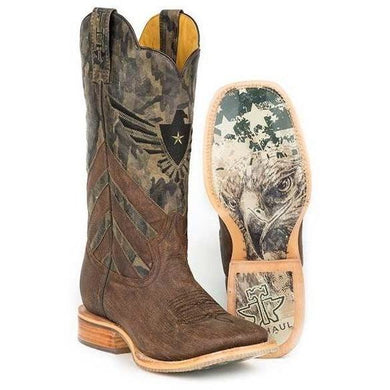 Men's Tin Haul Sergeant At Arms with Screaming Eagle Sole Boots