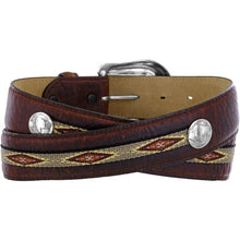 Load image into Gallery viewer, Men's Justin Northern Bison Belt