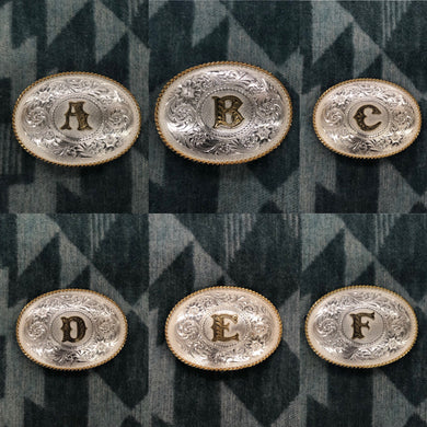 Montana Silversmith Letter Initial Buckles