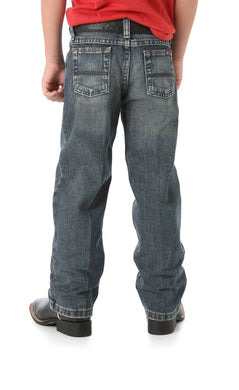 Boy's Wrangler No. 33 Extreme Relaxed Fit Jeans (Sizes 8-16)
