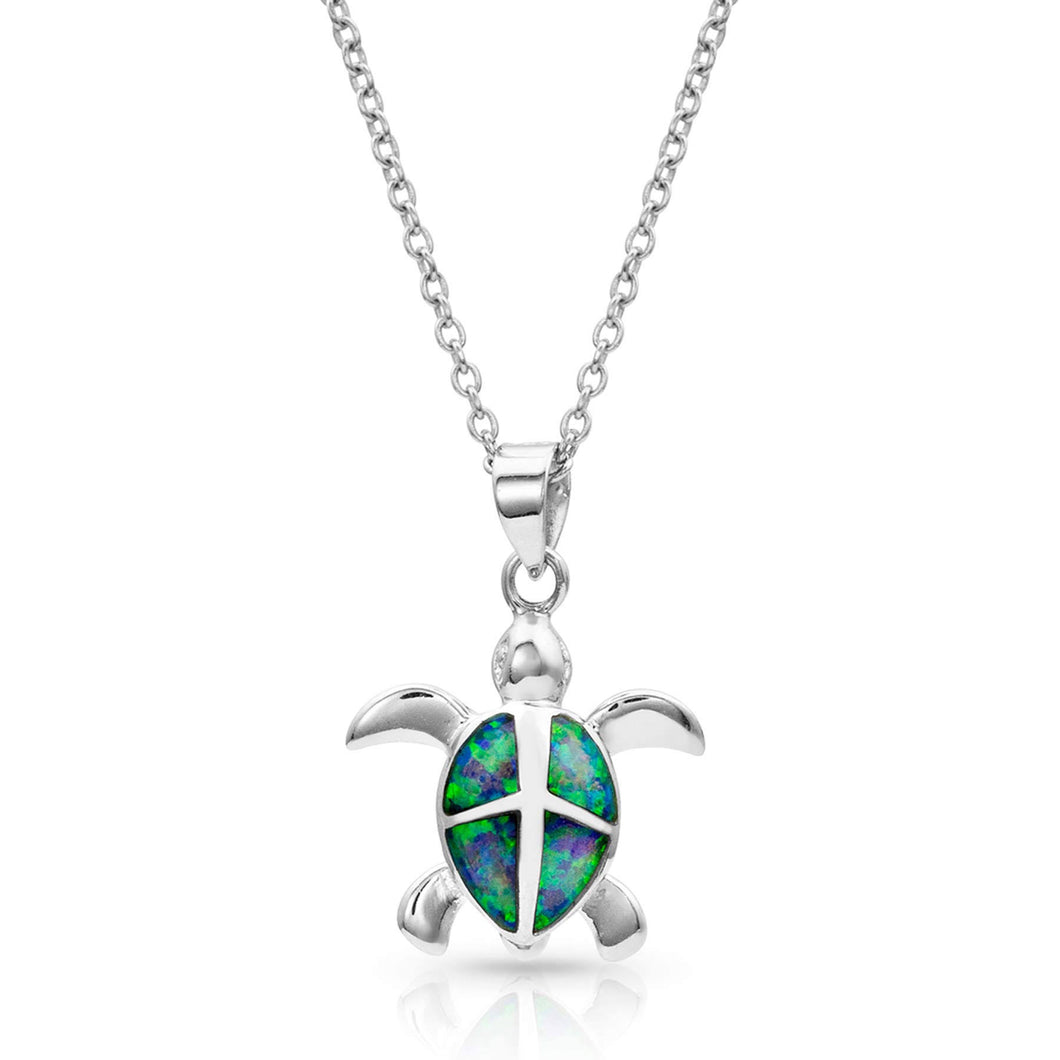 Montana Silversmiths Turtle Love Pendant Necklace