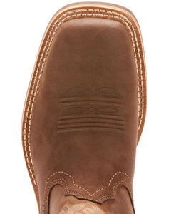 Men's Ariat Tombstone H2O Oily Brown Waterproof Boots