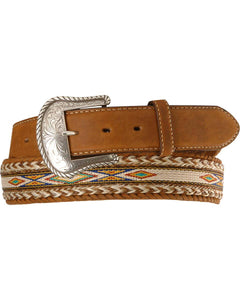 Men's Tony Lama Badlands Horsehair Belt