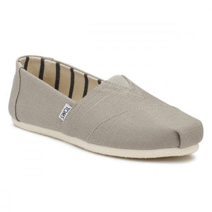 Women's Toms Classic Morning Dove Heritage Canvas