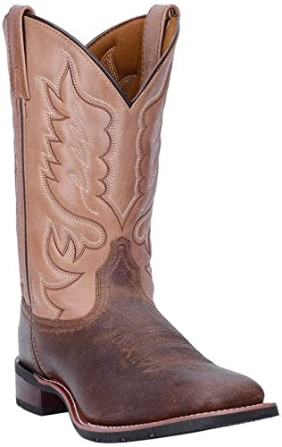 Men's Laredo Brown and Tan Montana Boots