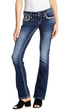 Women's Rock Revival Brisia Boot Cut Jeans
