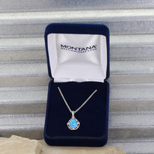 Load image into Gallery viewer, Montana Silversmiths Opal Teardrop Necklace