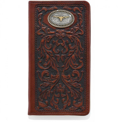 Silver Creek Texas Heritage Leather Wallet