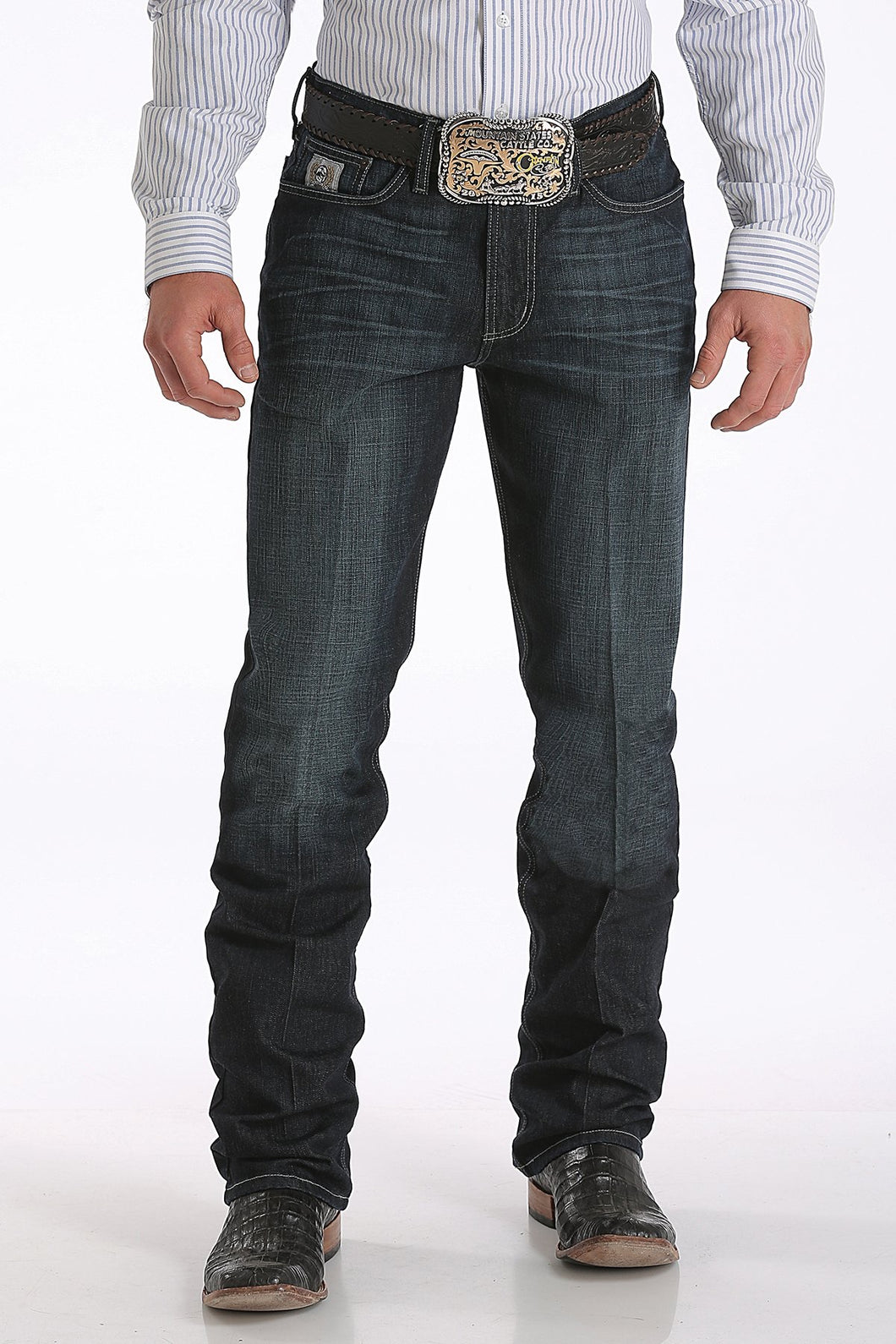 Men's Cinch Dark Rinse Silver Label Jeans