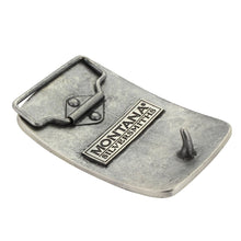 Load image into Gallery viewer, Montana Silversmiths Silver Bullet Flag Attitude Buckle