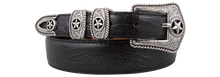 Load image into Gallery viewer, Men's Tony Lama Black Country Croc Belt