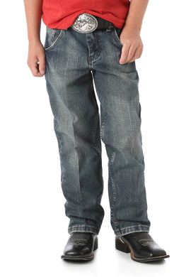 Boy's Wrangler 20X Relaxed Fit Straight Leg Jean (Sizes 1-7)