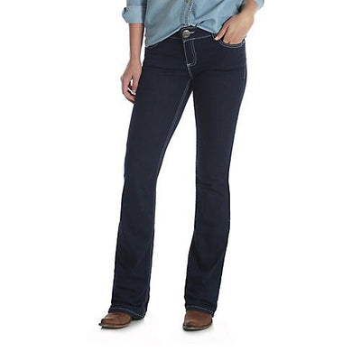 Women's Wrangler Retro Mae Dark Wash Jean