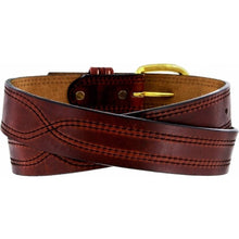 Load image into Gallery viewer, Men's Leegin Oiltan X Stitch Belt