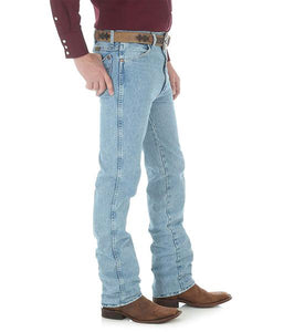 Men's Wrangler Antique Wash Cowboy Cut Slim Fit Jeans